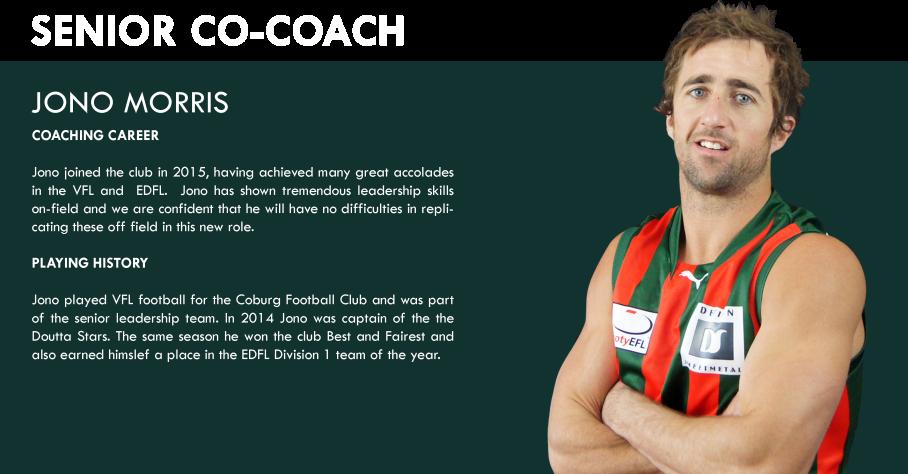 Jono Morris - Coaching Profiel
