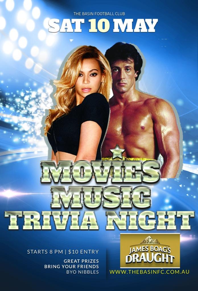 Music Movies Trivia Night