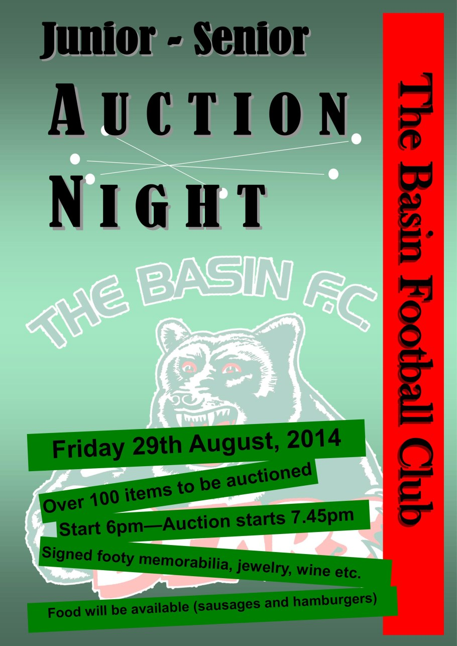 Auction 2014 Poster