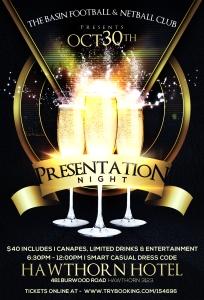Presentation Night 2015