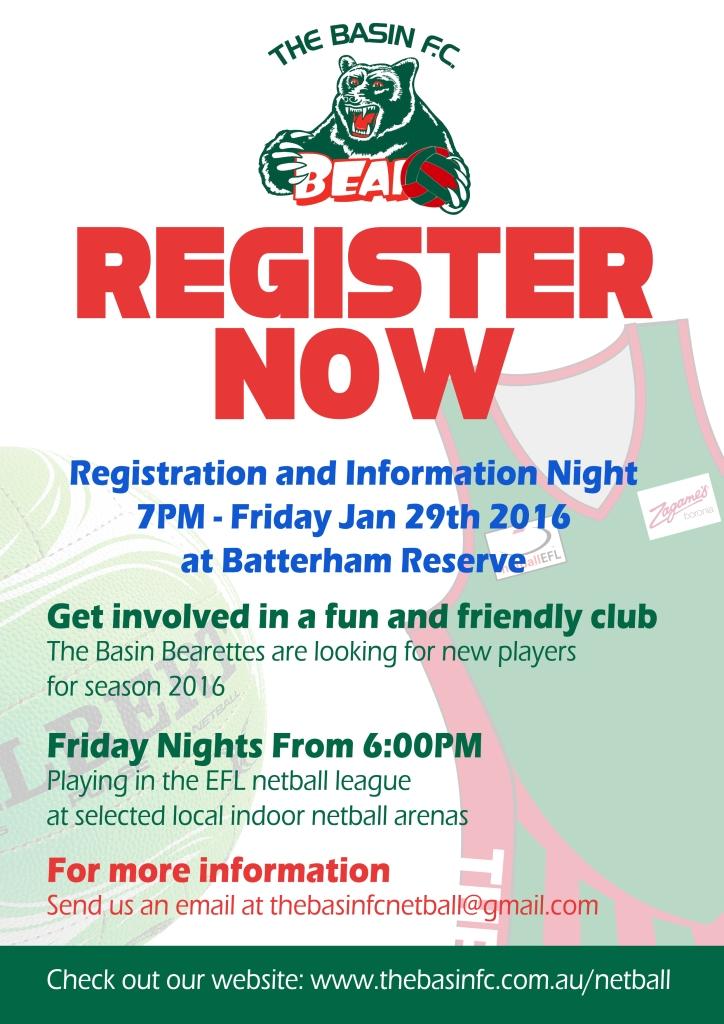 Netball Info Night